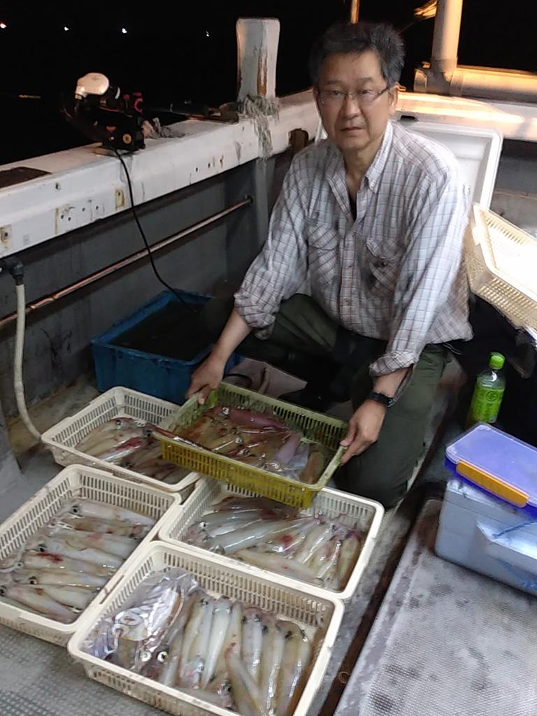 イカ釣り生涯初挑戦