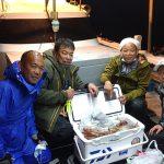 10月25日、夜焚きイカ釣り!
