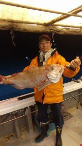 5月6日夜焚きイカ・タイ釣り